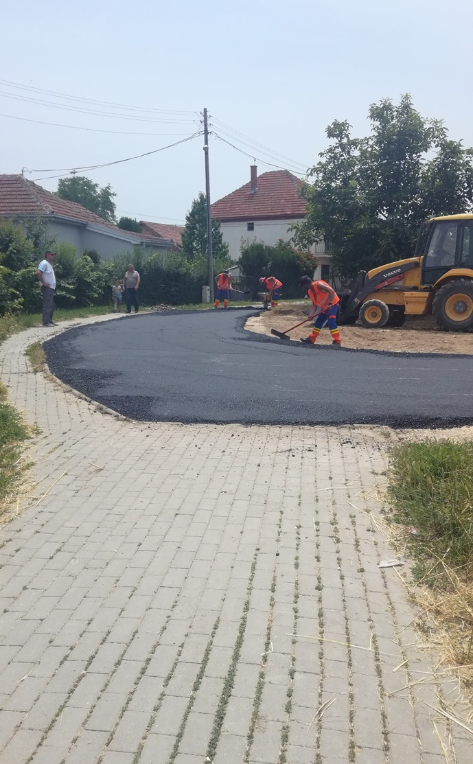 Се подобрува патната инфраструктура во општина Илинден
