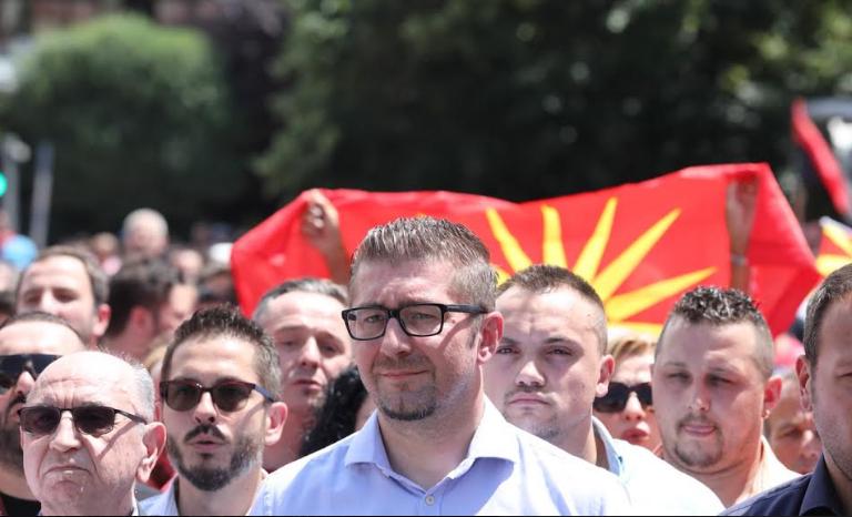 Мицкоски: Не може да очекувате дека ќе добиете датум за преговори, а државата е прогласена за најкорумпирана во Европа