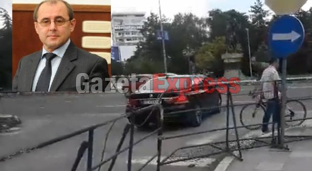 За власта повторно не важат законите, Џеват Адеми направи сообраќаен прекршок пред очите на полицијата и си замина неказнето