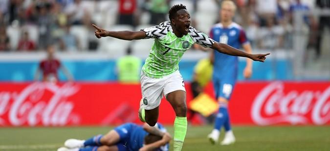 Ахмед Муса и донесе победа на Нигерија против Исланд