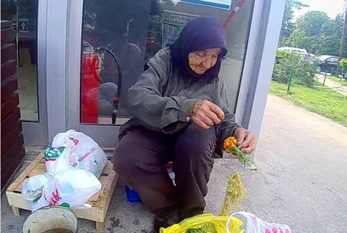 Судбината на бабичката со цвеќиња од Карпош ќе ве расплаче: Ми почина ќерката и внучињата останаа на мене…