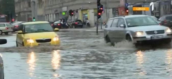 Големо невреме во Белград