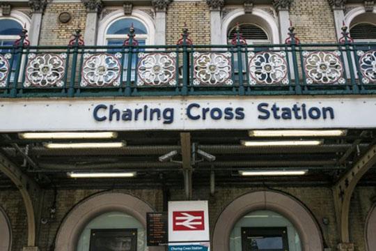 Евакуирана метро станица Черинг Крос во Лондон