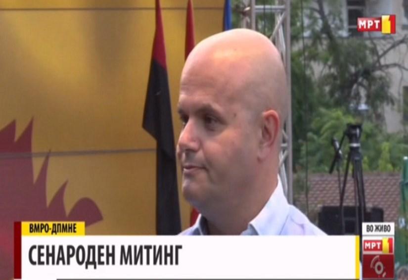 Данев: На Македонија ѝ се потребни предвремени парламентарни избори бидејќи политиките на оваа влада немаат никаков резултат