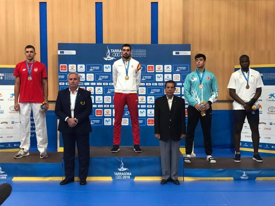 Историски сребрен медал за Дејан Георгиевски на Медитеранските игри во Тарагона