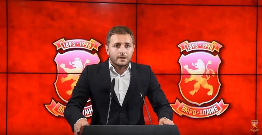 Арсовски: На нападот на штабот на ВМРО-ДПМНЕ претходела средба на функционери на СДСМ со лица со криминално досие