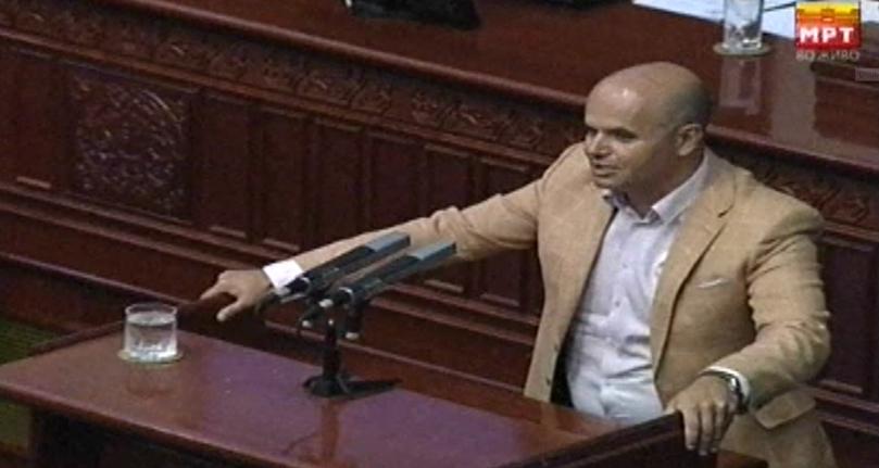 Данев: Чашата е прелеана, границите се поминати, граѓаните заслужуваат подостоинствено Собрание