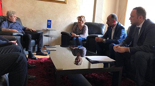 ДУИ дава потполна поддршка на Владата во преговорите за решавање на спорот за името