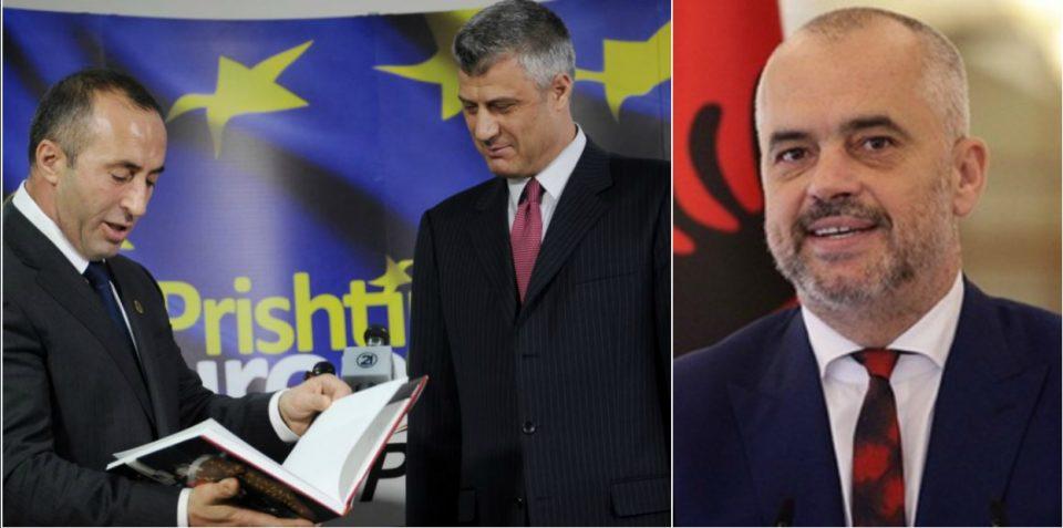 Харадинај, Тачи и Рама презадоволни од Заев: Косово и Албанија му честитаа македонскиот премиер за промената на името