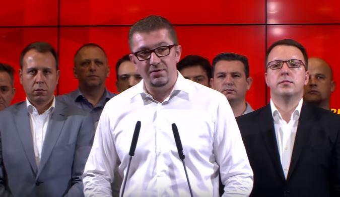 Мицкоски жестоко одговори: ВМРО-ДПМНЕ нема да поддржи промена на Уставот со цел промена на уставното име, договорот на Заев значи капитулација