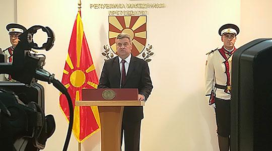 Претседателот Иванов: Нема сила што ќе го наметне договорот, народот да не се плаши