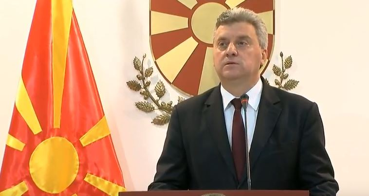Сочувство од претседателот Иванов по повод смртта на Љубиша Георгиевски