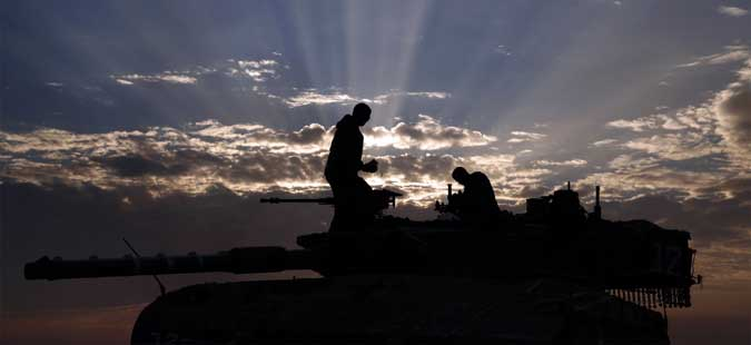 Израелската армија нападна позиции на Хамас
