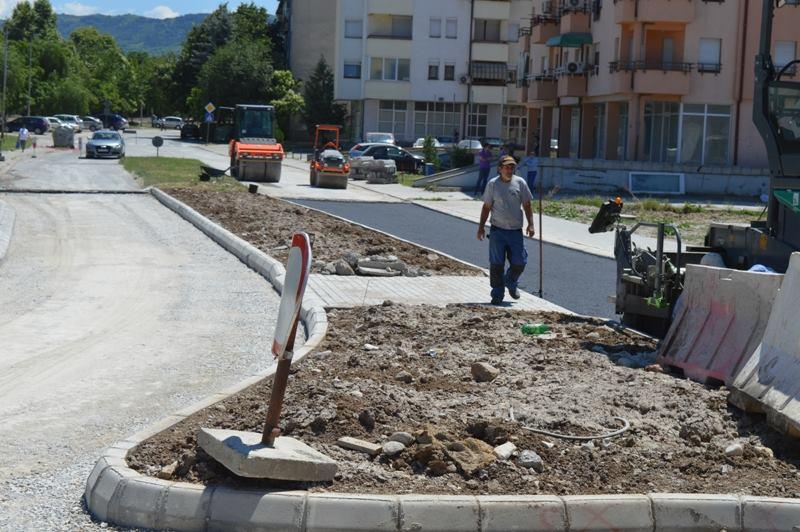 Фото: Кавадарци добива нов кружен тек- поголема безбедност на сите учесници во сообраќајот
