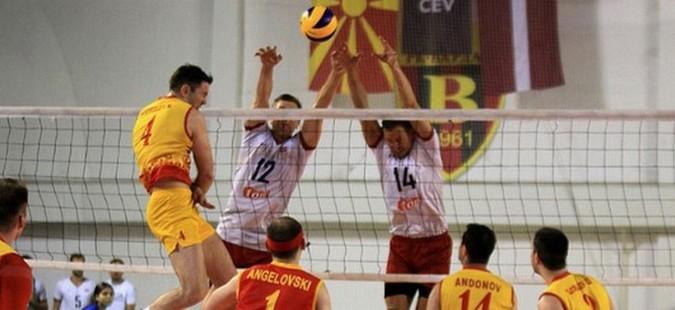 Македонските одбојкари поразени од Египет на стартот од Медитеранските игри
