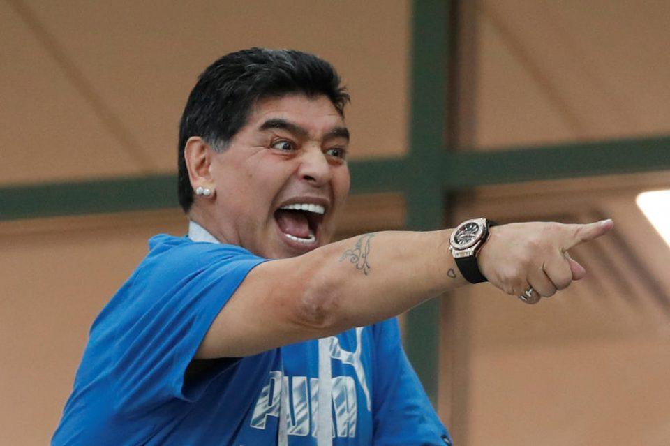 Марадона е уапсен, причината бизарна