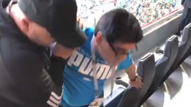 ВИДЕО: Марадона заврши во болница по победата на Аргентина