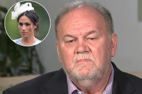Таткото на Меган Маркл во интервју повторно зборуваше за неа и го налути кралското семејство (ВИДЕО)