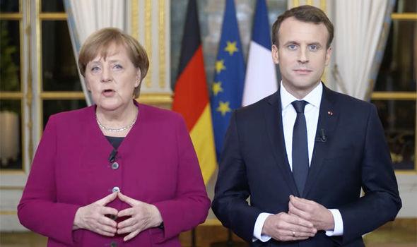 Меркел утре ќе го убедува Макрон за почеток на преговорите на Македонија и Албанија со ЕУ