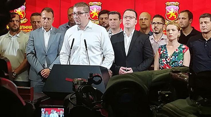 Мицкоски: Јас на референдум ќе гласам против договорот за капитулација