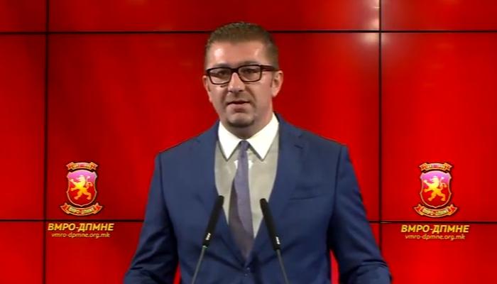 Мицкоски побара средба со Иванов и Заев – темата ќе биде капитулантскиот договор за името