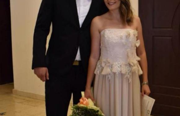 ФОТО: Се ожени македонскиот ракометен репрезентативец- неговата избраничка е преубава поранешна ракометарка