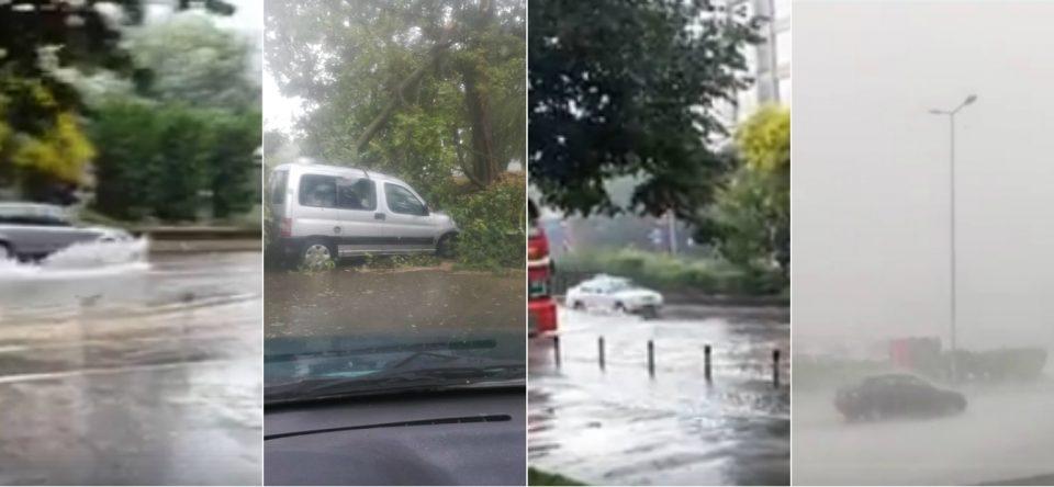 ФОТО: Скопје поплавено, Шилегов спие