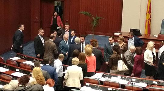 Најдоцна следната недела Собранието повторно ќе гласа за договорот за името