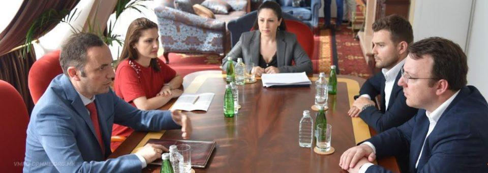 Претставници на ВМРО-ДПМНЕ на средба со Османи: Искажан сомнеж во капацитетите и волјата на актуелната влада да ги реализира преземените обврски