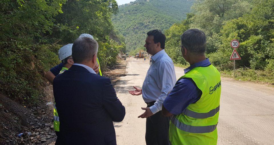 Реконструкцијата на патот Кочани – Делчево ќе заврши до крајот на јуни