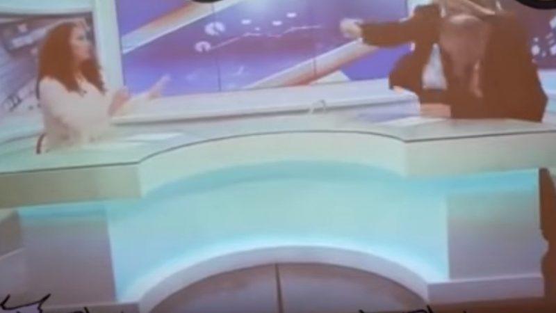 ВИДЕО: Жестока тепачка на ТВ емисија, се пресметаа синдикални лидери во Албанија