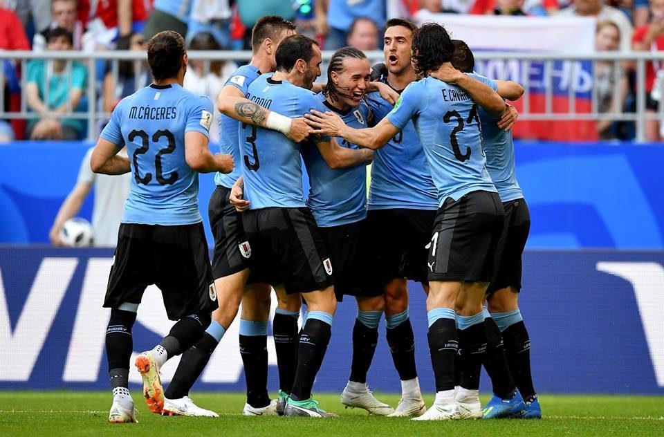 Уругвај го нанесе првиот пораз на домаќинот Русија
