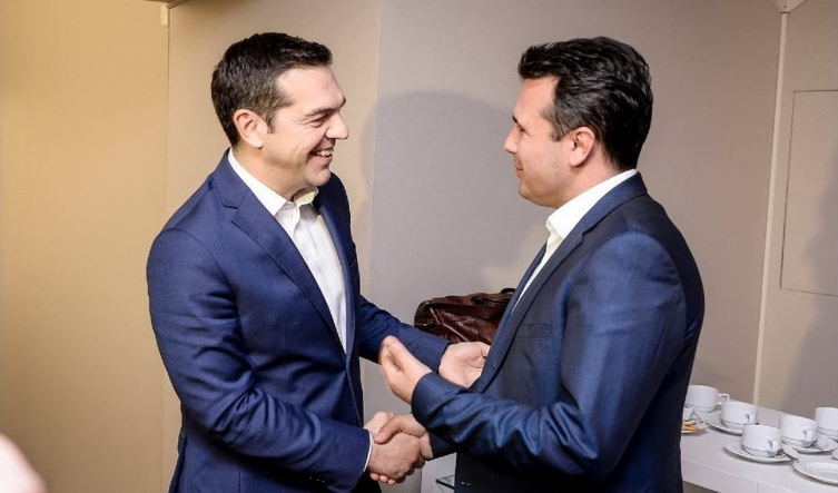 Телефонскиот разговор Заев – Ципрас ќе биде попладне