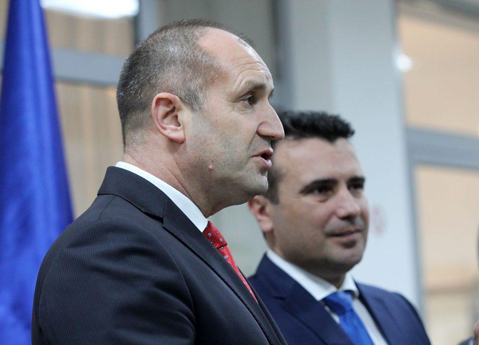 Ладен туш од Бугарија за Заев
