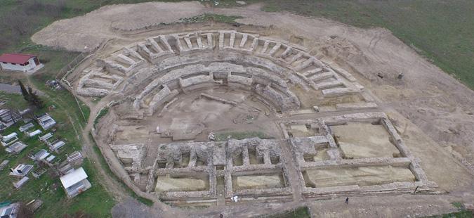 Презентација на реализирани конзерваторско-реставраторски работи на античкиот театар во Скупи