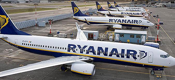 Штрајк во Рајанер, откажани 600 летови