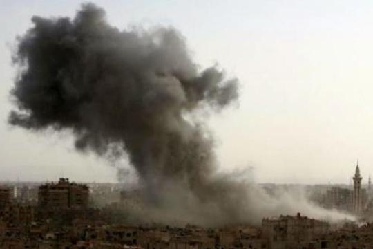 Израел ја ракетираше сириската база во Хомс