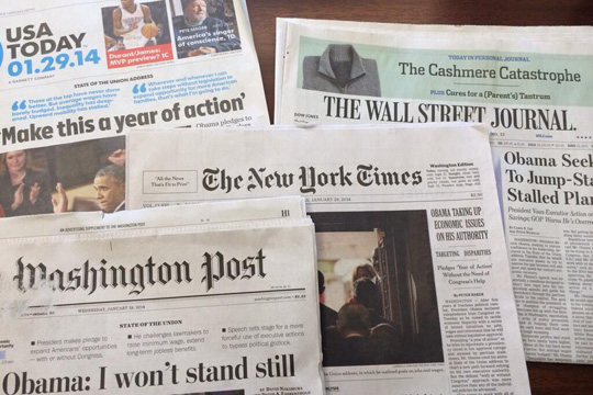 Истражување: Во САД се намалува бројот на новинари