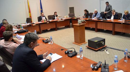 Седница на собраниската Комисија за транспорт, врски и екологија