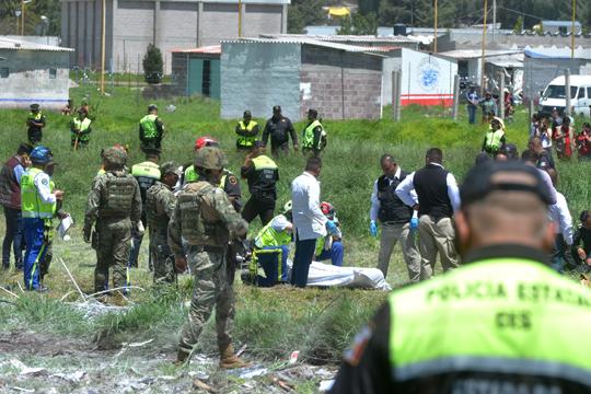 Мексико: Најмалку 24 жртви во експлозии во фабрики за пиротехнички материјали