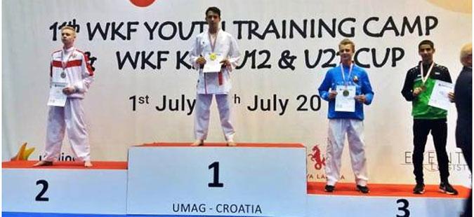 Идризи освои злато на Светскиот карате куп во Умаг