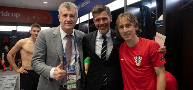 Хрватските фудбалски легенди поканети на финалето во Москва