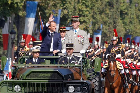 Франција го одбележува Денот на падот на Бастилја со зголемен воен буџет