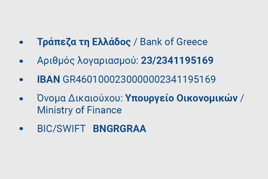 Информации за донирање за погодените од пожарите во Грција