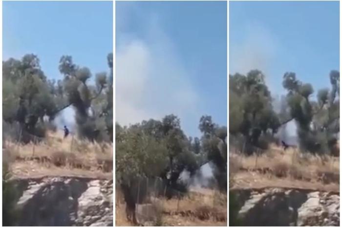 Ова е доказ дека ужасните пожари во Грција се подметнати: Се појави снимка од човек кој пали дрва