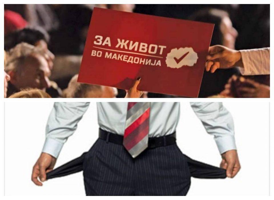Мицкоски: СДСМ секогаш доаѓаат на власт со некоја голема лага- ветуваа живот, дојде пекол