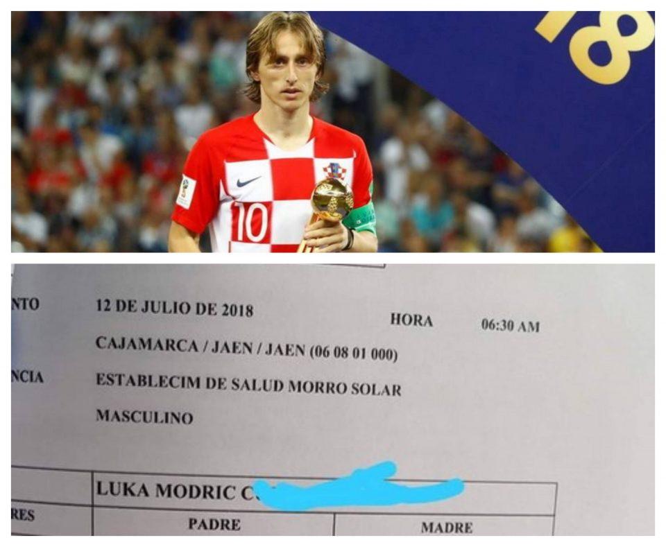 По Роналдо и Меси уште едно новороденче од Перу доби име по голема фудбалска ѕвезда (ФОТО)