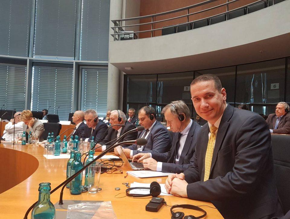 Ѓорчев се сретна со Републиканскиот конгресмен Питинџер и пратеници на германската ЦДУ