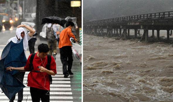 Во Јапонија откажани 150 летови поради тајфунот Џондари