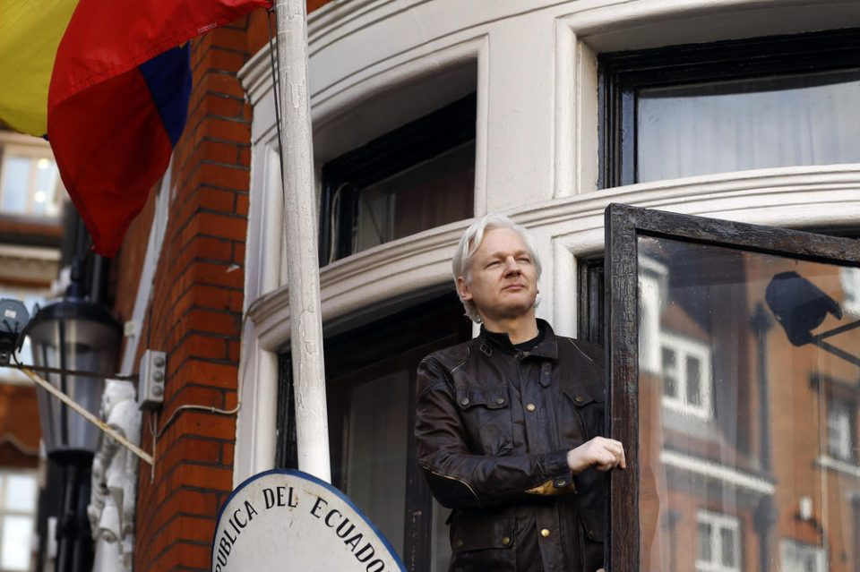 Објавено последното обвинение против основачот на Викиликс, Џулијан Асанж